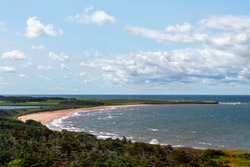 I was looking out at the east coast of PEI from the Lighthouse