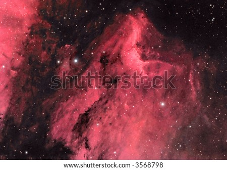 IC 5070 Pelican Nebula in Cygnus