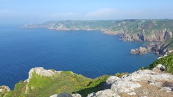 Icart View, South Coast Cliffs Guernsey Channel Islands