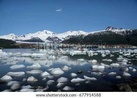 Ice Age Glacier: Katmai National Park Glacier accessed only by Float plane #677914588