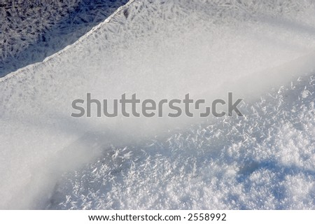 Ice and Snow crystals