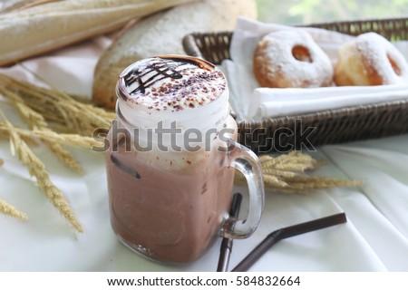 ice cafe mocha #584832664