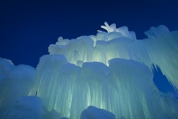 Ice Castles of Siverthorne, Colorado.