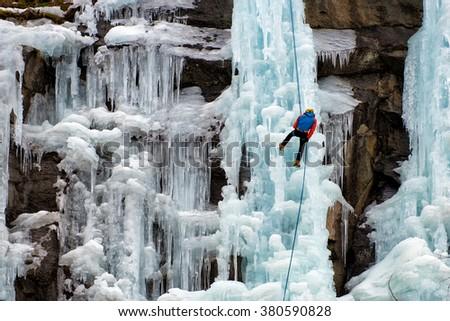 Ice Climbing #380590828