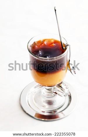 ice coffee cocktail