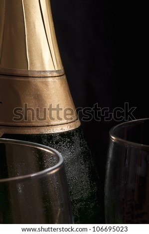 Ice cold champagne
