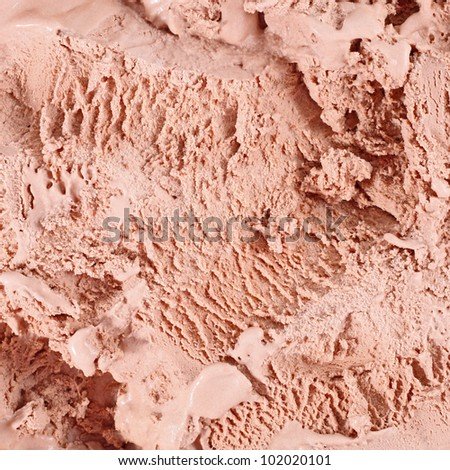 ice cream backgrounds - stock photo