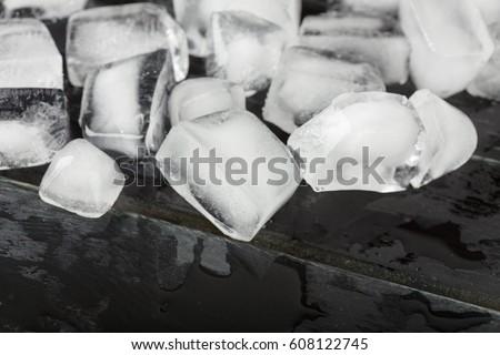 Ice cubes #608122745