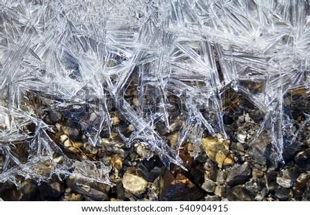 Ice detail #540904915