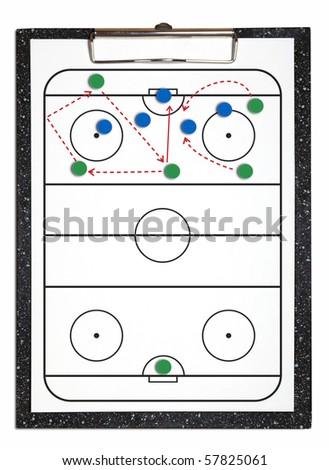 Ice Hockey attacking strategy