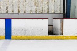 Ice Hockey Rink Wall