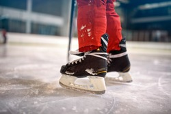 ice hockey sport players competition concept