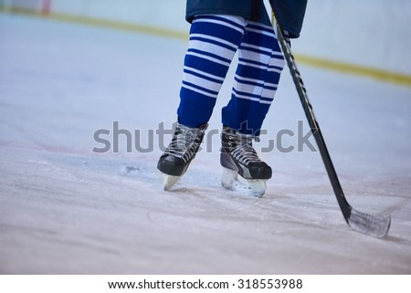 ice hockey sport players comptetition concpet #318553988