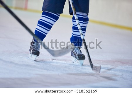 ice hockey sport players comptetition concpet #318562169