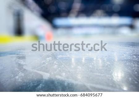 ICE HOCKEY STADIUM BACKGROUND, ICY SURFACE