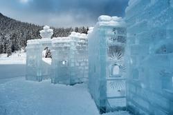 Ice Hotel at Lake Louise, Canada