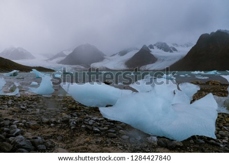 Ice Melt, Svalbard
