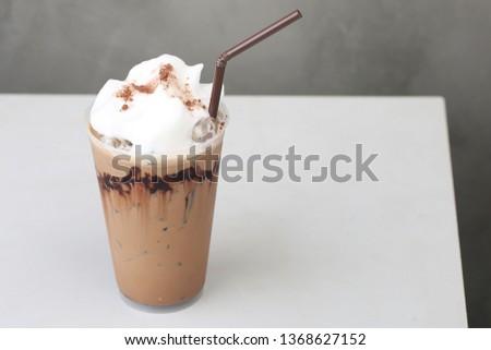 Ice Mocha coffee #1368627152