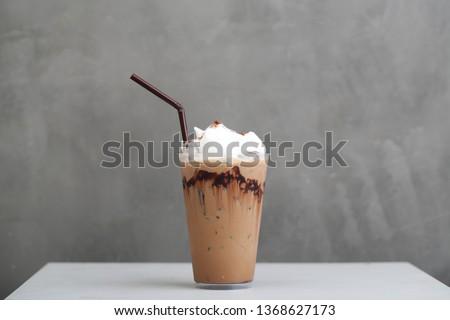 Ice Mocha coffee #1368627173