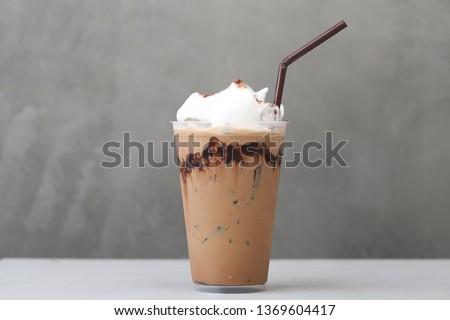 Ice Mocha coffee #1369604417