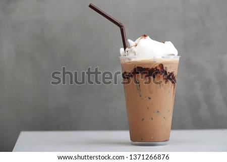 Ice Mocha coffee #1371266876