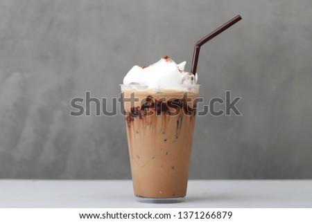 Ice Mocha coffee #1371266879