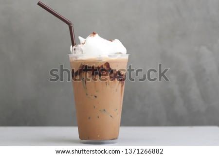 Ice Mocha coffee #1371266882