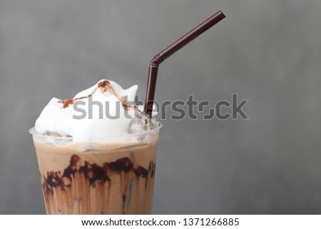 Ice Mocha coffee #1371266885