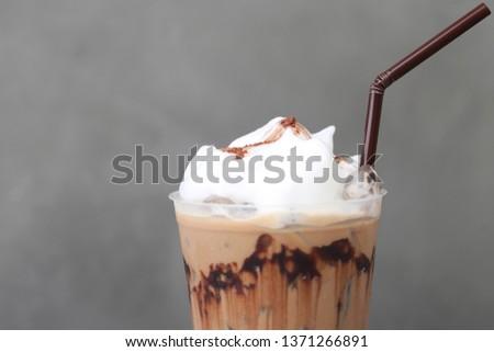 Ice Mocha coffee #1371266891