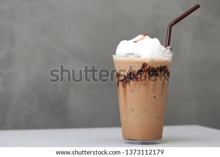Ice Mocha coffee #1373112179
