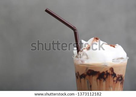 Ice Mocha coffee #1373112182