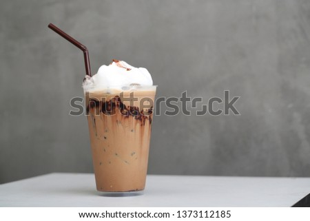 Ice Mocha coffee #1373112185