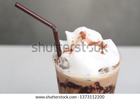 Ice Mocha coffee #1373112200