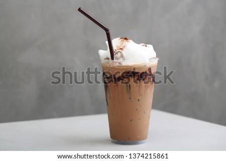 Ice Mocha coffee #1374215861