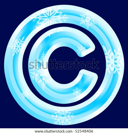 Ice Signs and Symbols (see also letters, numbers & symbols in my portfolio)