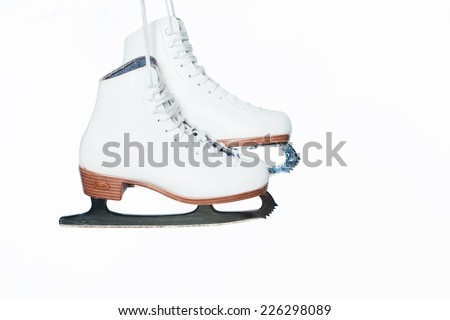ShutterStock ice skating shoes 226298089