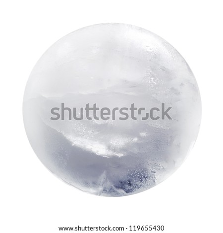 Ice sphere isolated