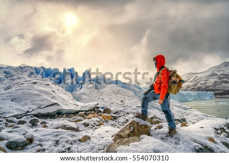 Shutterstock Ice Trekking on Perito Moreno ice garcia, El Carafate - Argentina