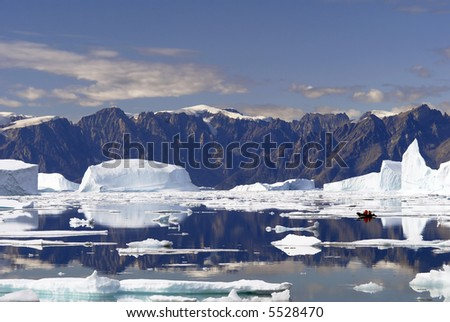 Iceberg Bay - Northeast Greenland National Park