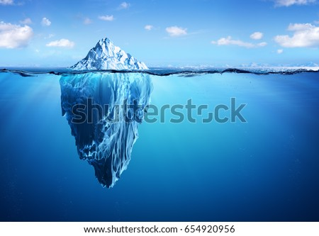 iceberg   hidden danger and...