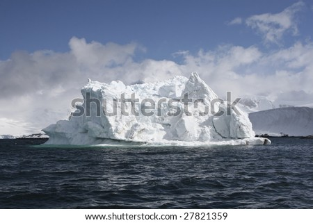 Iceberg in Antarctica waters