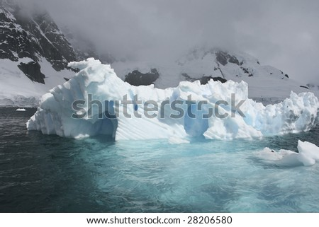 Iceberg in Antarctica waters