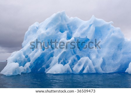 Iceberg in Napassorsuaq Fjord, Greenland