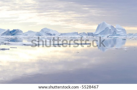 Iceberg - Northeast Greenland National Park