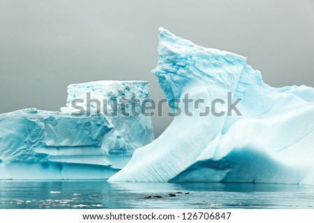Iceberg, west coast of antarctic peninsula