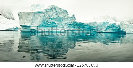 Iceberg, west coast of antarctic peninsula