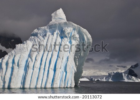 Icebergs come in an endless variety of shapes