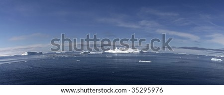 Icebergs floating in the Weddell Sea, Antarcitca #35295976