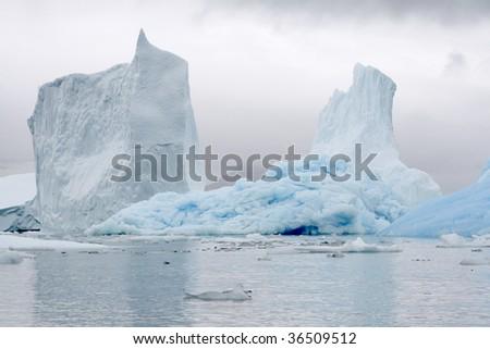 Icebergs in Napassorsuaq Fjord, Greenland