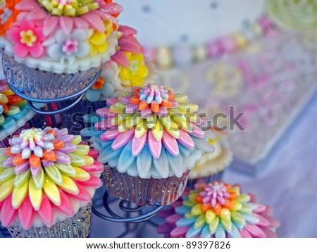 Iced fancy cakes